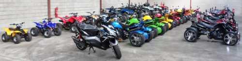 LeMeilleurDuQuad Motos Quads Trikes stocks importants